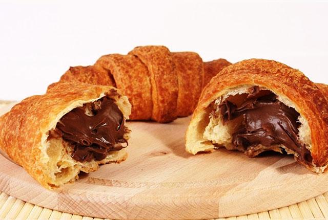 Croissants au Nutella au Thermomix
