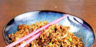 Voici la recette du riz sauté aux légumes et soja WW