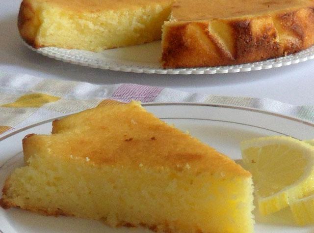 Gâteau Ultra Léger au Citron et Ricotta WW