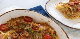 Gratin Léger de Pommes de Terre et de Tomates Cerises WW