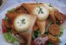Salade Légère au Chèvre Chaud WW