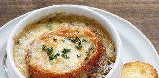 Soupe Légère à l'Oignon Gratinée WW