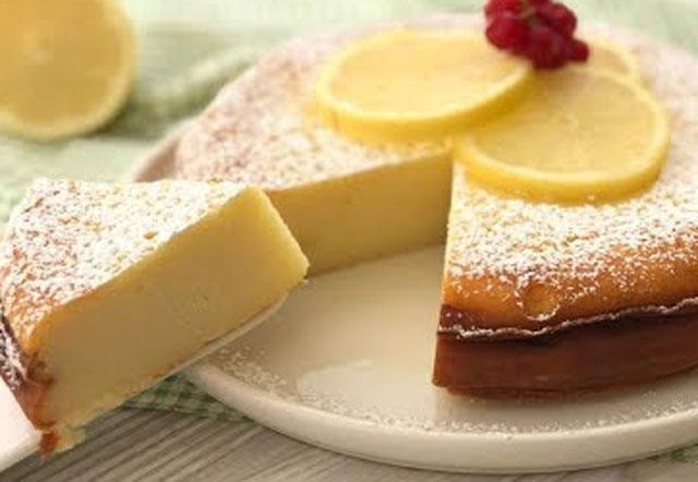gâteau léger au citron et au fromage blanc WW