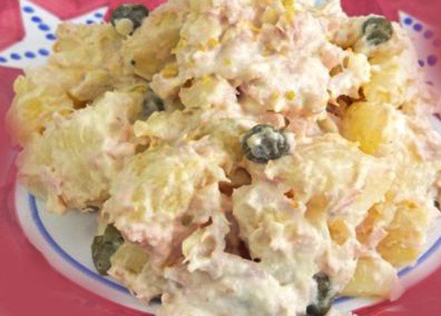 Salade de Pommes de Terre au Thon et à la Mayonnaise WW