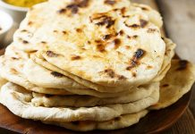 naans légers au fromage blanc WW