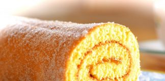 Gâteau Roulé Léger à la Confiture WW