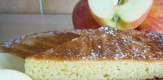Gâteau Léger aux Pommes et au Skyr WW