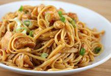Nouilles Chinoises au Poulet et Sauce Soja WW