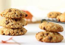 cookies légers à l'avoine et aux pépites de chocolat WW