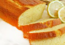Cake Léger au Citron et Yaourt WW