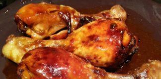 cuisses de poulet au miel et citron WW