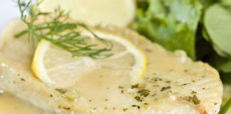 Filets de Poisson à la Crème au Citron WW