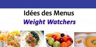 Idées des menus Weight Watchers