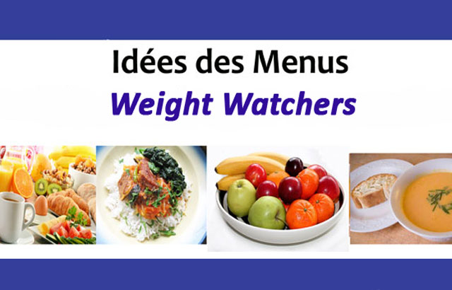 Idées des menus Weight Watchers