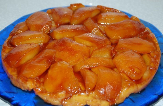 Tarte Tatin Légère aux Pommes WW