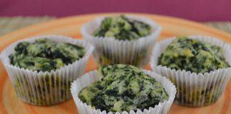 muffins légers aux épinards et skyr WW