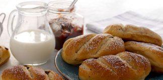 petits pains au lait aux pépites de chocolat avec thermomix, de savoureux pains au lait moelleux à souhait avec pépites de chocolat, facile et simple au thermomix