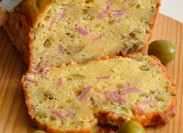Cake Léger au Jambon et Olives WW
