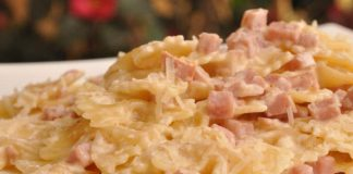 pâtes au jambon et aux fromages WW