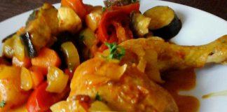 tajine léger de poulet aux légumes WW