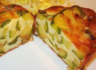 mini-clafoutis légers aux courgettes et parmesan WW