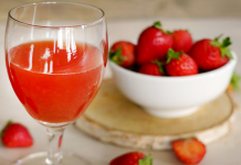 Cocktail Rossini à la Fraise au Thermomix