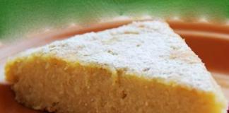 Gâteau Semoule Léger à la Vanille WW