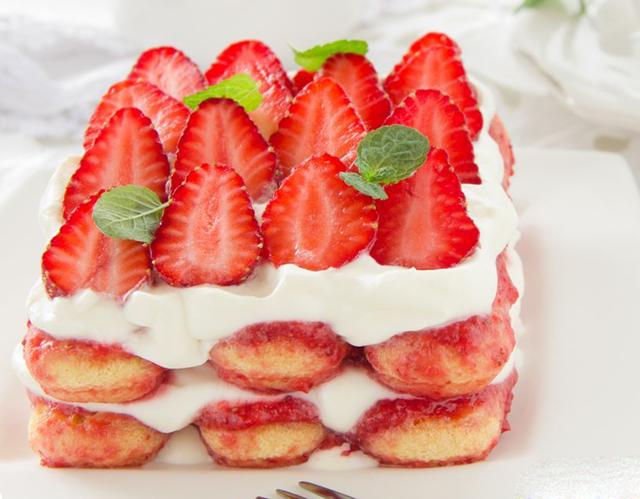 tiramisu léger aux fraises WW