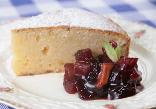 Gâteau Léger Nature Sans Farine WW