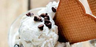 Glace au Yaourt et Pépites de Chocolat Sans Sorbetière WW