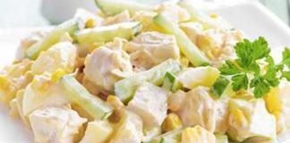 salade Detox à la sauce au yaourt WW