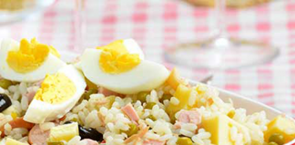 Salade Légère de Riz au Jambon WW