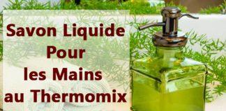 Savon Liquide Pour les Mains au Thermomix