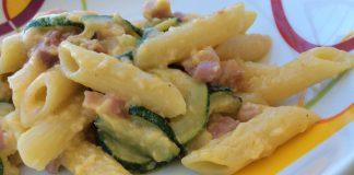 Pâtes aux Courgettes Façon Carbonara WW