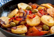 Poêlée légère de pommes de terre aux lardons WW
