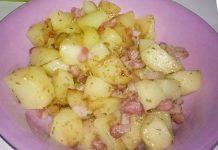 Poêlée de Pommes de Terre aux Lardons WW
