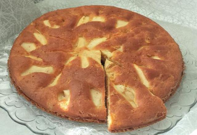 Gâteau Express au Yaourt et Pommes WW