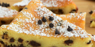 Gâteau Léger au Skyr et Pépites de Chocolat WW