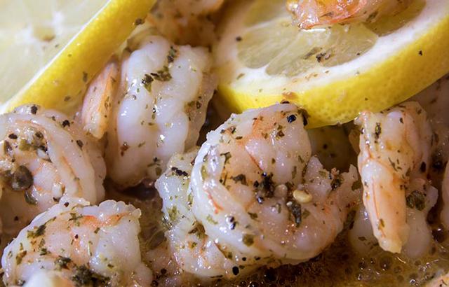 Crevettes au Citron au Thermomix