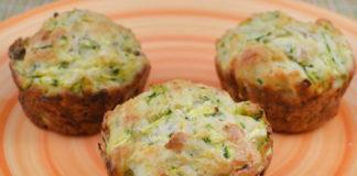 Muffins Légers au Thon et Courgettes WW