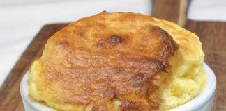 soufflé léger aux fromages et lardons WW un savoureux soufflé léger sans beurre, moelleux et aéré facile et simple à réaliser,