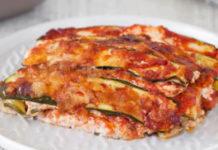 Lasagnes de Courgettes Légère WW