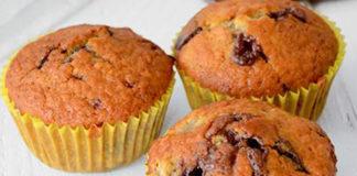 muffins légers aux bananes et chocolat WW