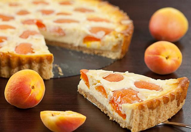 Tarte Légère aux Abricotes et Fromage WW