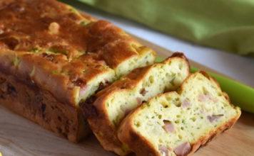 Cake Léger aux Courgettes et Jambon WW
