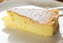 Gâteau Nature Sans Farine WW