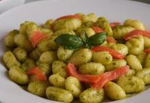 Gnocchis au Pesto et Saumon WW