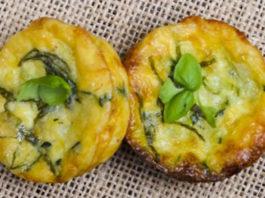 muffins léger aux poireaux et courgettes WW