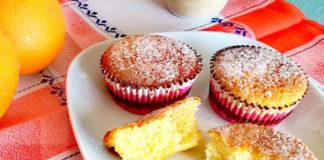 muffins légers à l'orange Ww