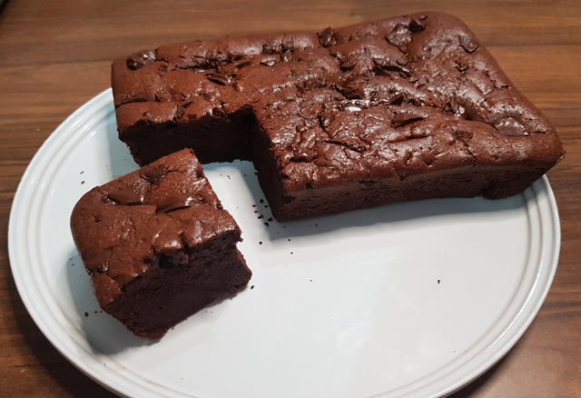 Gâteau au Chocolat Léger avec 2 Ingrédients WW